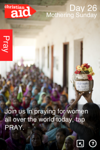Christian Aid Count Your Blessing app 2_blessing_page