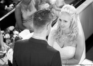 Wedding service vows