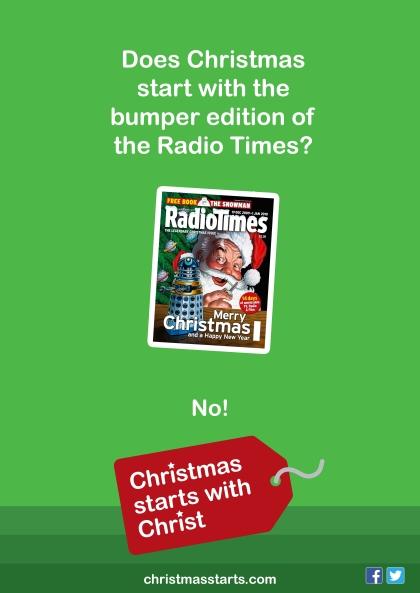 christmas starts radio times