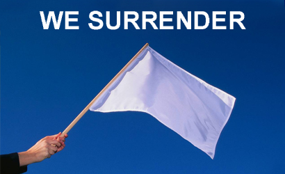 White Flag Surrender