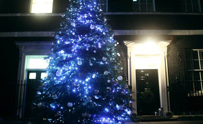 10 Downing Street Christmas Tree