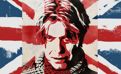 David Bowie Union Jack