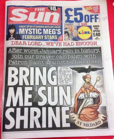 Sun Newspaper Sun Shrine front
