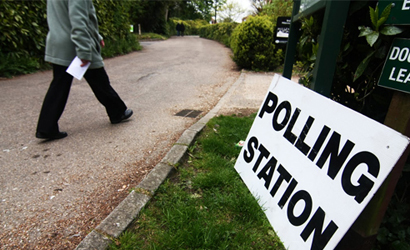 Polling Station small