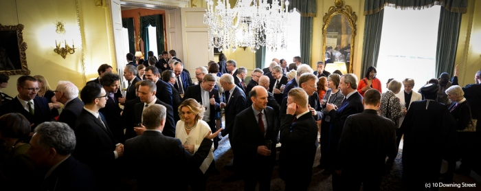 10 Downing Street Easter Reception 2014