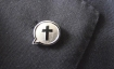 Cross Lapel Badge